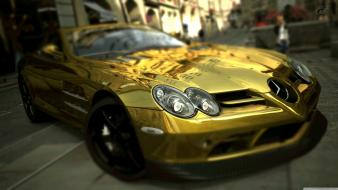 Gold mercedes benz slr mclaren wallpaper