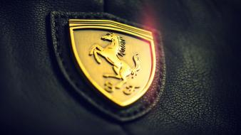 Gold vehicles logos ferrari emblem seats scuderia Wallpaper