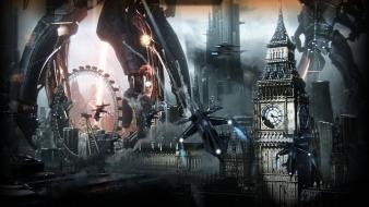 Invasion london mass effect 3 reapers wallpaper