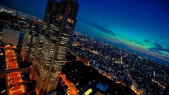 Japan tokyo cityscapes city lights wallpaper