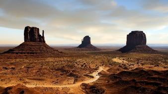 Landscapes desert cliffs wallpaper