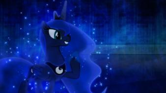 Luna my little pony: friendship is magic wallpaper