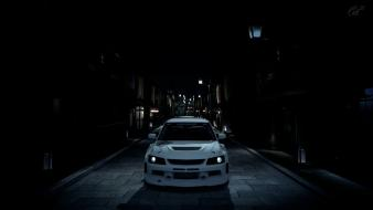 Mitsubishi lancer evolution gran turismo 5 ps3 wallpaper
