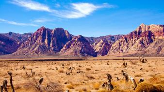Mountains landscapes mac desert wallpaper
