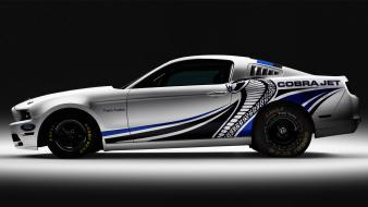 Mustang twin turbo side view cobra jet wallpaper