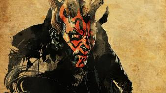Star wars darth maul sith artwork wallpaper