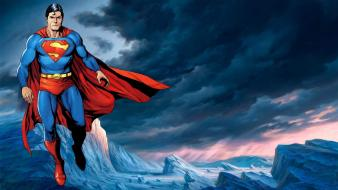 Superman digital art wallpaper