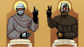 Thomas bangalter guy manuel de homem christo wallpaper