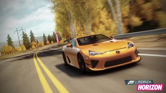 Video games lexus xbox 360 forza horizon lf-a wallpaper