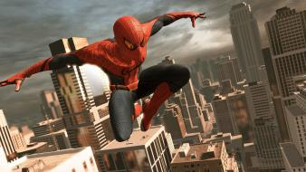 Video games spider-man superheroes the amazing spiderman wallpaper