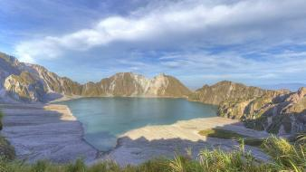 Water mountains landscapes nature philippines wallpaper