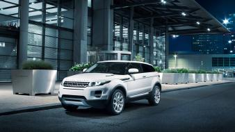 White cars range rover evoque Wallpaper