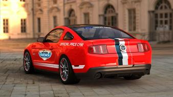 5 ford mustang gt ps3 pace car wallpaper