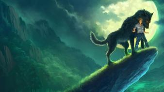 Artwork wolves andreas rocha wallpaper