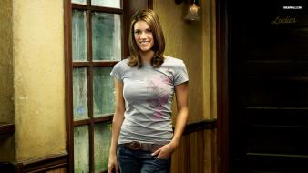 Brunettes women models missy peregrym Wallpaper