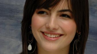 Camilla Belle Face wallpaper