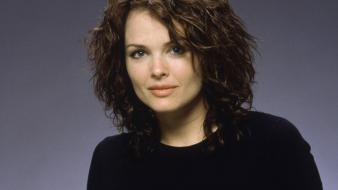 Dina Meyer Black wallpaper