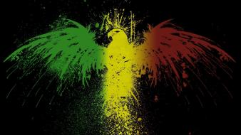 Eagles flags black background mali wallpaper
