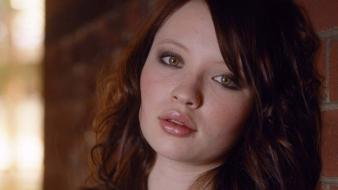 Emily Browning Face wallpaper