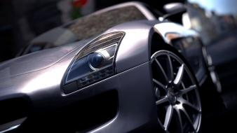 Gran turismo 5 mercedes-benz sls amg ps3 wallpaper