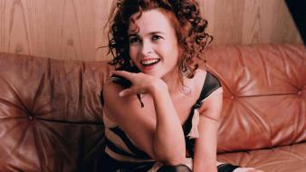 Helena Bonham Carter Laugh wallpaper