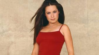 Holly Marie Combs Red wallpaper