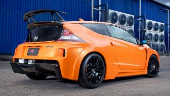 Honda cr-z mugen rr orange cars wallpaper