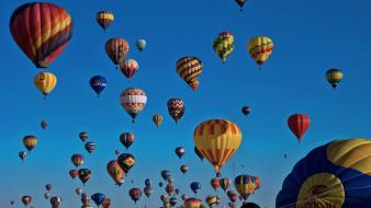 Hot air balloons races Wallpaper