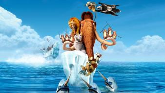 Ice age continental wallpaper