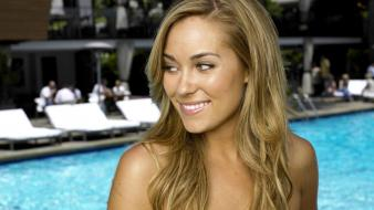 Lauren Conrad Smile wallpaper