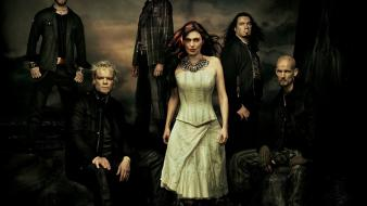 Music band o2 within temptation metal wallpaper
