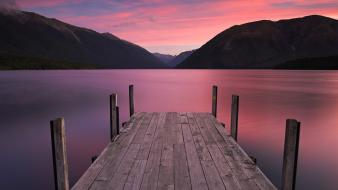 New zealand south lakes wallpaper