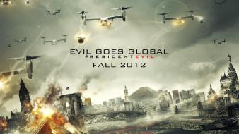 Resident evil movie posters retribution Wallpaper
