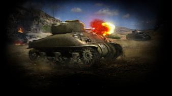 Sherman tanks world of m4 wallpaper
