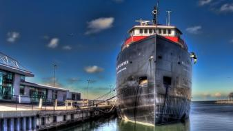 Ships hdr photography Wallpaper