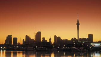 Skylines north new zealand auckland wallpaper