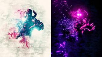 Unleashed anime bosslogic galactus posters wallpaper