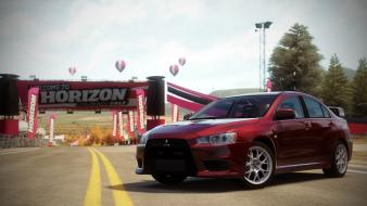 2008 mitsubishi lancer evo x forza horizon Wallpaper