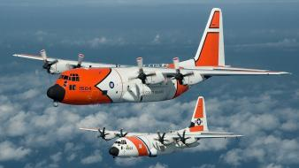 Aircraft c-130 hercules us coast guard lockheed wallpaper