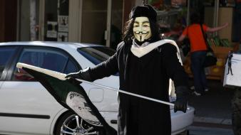 Anonymous guy fawkes honda civic wallpaper