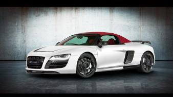 Audi r8 spyder sports cars mansory Wallpaper