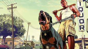 Auto rockstar artwork gta v game 5 Wallpaper