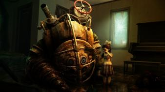 Big daddy bioshock bubbles get up Wallpaper