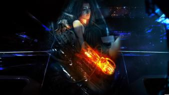 Brunettes miranda lawson mass effect 3 wallpaper