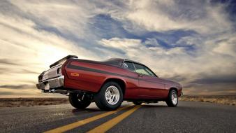 Cars muscle car plymouth duster wallpaper