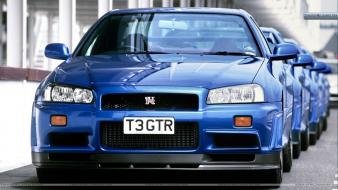 Cars vehicles nissan skyline r34 gt-r wallpaper