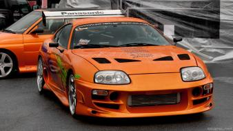 Cars vehicles toyota supra front angle view wallpaper