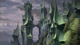 Castle rivendell complex magazine wallpaper