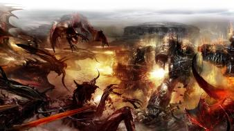 Chaos space marines tyranids warhammer 40,000 Wallpaper