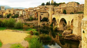 Cityscapes europe spain wallpaper